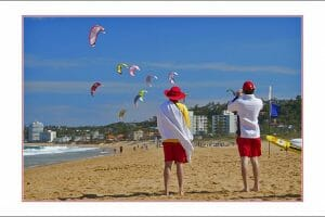 Kite surfing at Narrabeen copy
