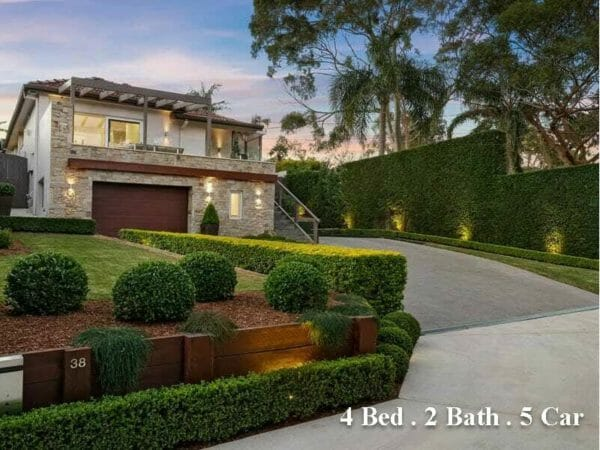38 The Crescent NORTH NARRABEEN Sold $2,810,000 on 25072021